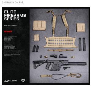 ダムトイ 1/6 エリートファイヤーアームズシリーズ 3 ベクターSMG タクティカル セット BLK/COYOTE EF013(ZD43794)|digitamin