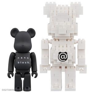 メディコム・トイ BE@RBRICK × nanoblock 2PACK SET B(ZF46513) digitamin