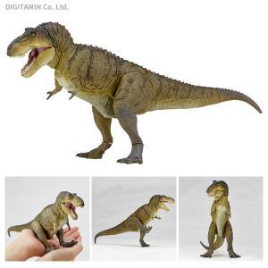 海洋堂 ソフビトイボックス 018B ティラノサウルス(スモークグリーン)(ZF46950) digitamin