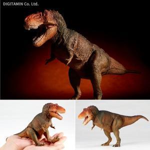 ソフビトイボックス 018C ティラノサウルス(クラシックイメージカラー) フィギュア 海洋堂(ZF50451) digitamin