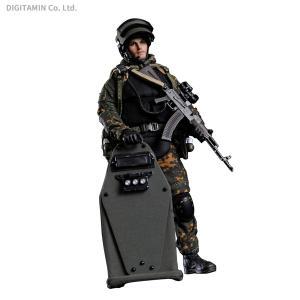 クレイジーフィギュア 1/12 ロシア FSB アルファ部隊 ヘヴィ シールド ハンド ベスラン 2004 LW007 (ZF70795)|digitamin