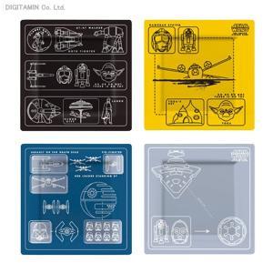 送料無料◆スター・ウォーズ ホーム&キッチン メラミン・プレート 4枚セット(設計図) アンダーグラ...