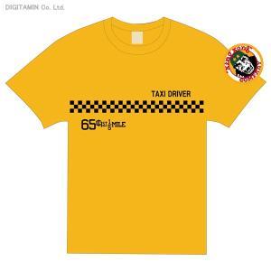 送料無料◆YUTAS タクシードライバー オフィシャルライセンス Tシャツ イエロー XLサイズ(ZG23429)|digitamin