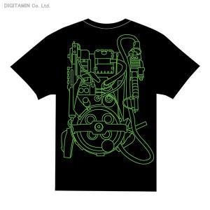 送料無料◆YUTAS ゴーストバスターズ プロトンパックTシャツ Type.B(BLACK) Lサイズ(ZG25114)|digitamin