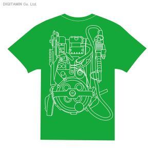 送料無料◆YUTAS ゴーストバスターズ プロトンパックTシャツ Type.B(GREEN) XLサイズ(ZG25119)|digitamin