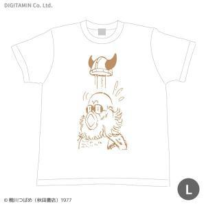 送料無料◆YUTAS マカロニほうれん荘 「必殺の春」Tシャツ Lサイズ(ZG33807)|digitamin