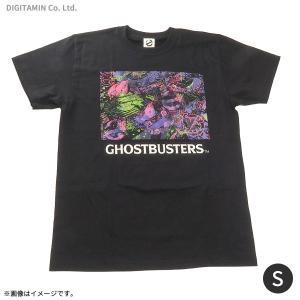 送料無料◆ゴーストバスターズ ネオンTシャツ(ブラック) Sサイズ YUTAS(ZG45241)|digitamin