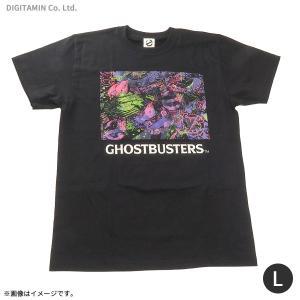 送料無料◆ゴーストバスターズ ネオンTシャツ(ブラック) Lサイズ YUTAS(ZG45243)|digitamin
