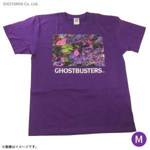 送料無料◆ゴーストバスターズ ネオンTシャツ(パープル) Mサイズ YUTAS(ZG45246)|digitamin