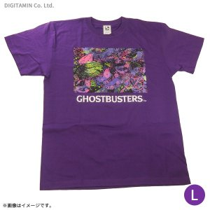 送料無料◆ゴーストバスターズ ネオンTシャツ(パープル) Lサイズ YUTAS(ZG45247)|digitamin
