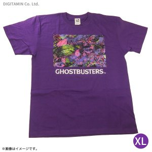送料無料◆ゴーストバスターズ ネオンTシャツ(パープル) XLサイズ YUTAS(ZG45248)|digitamin