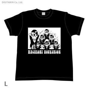 YUTAS マカロニほうれん荘 分身トシちゃん Tシャツ 黒 Lサイズ◆ネコポス送料無料(ZG55286)|digitamin