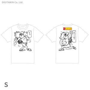 YUTAS マカロニほうれん荘 うっどーん! Tシャツ 白 Sサイズ◆ネコポス送料無料(ZG55299)|digitamin