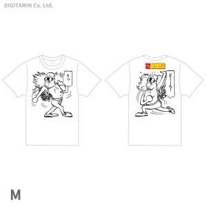 YUTAS マカロニほうれん荘 うっどーん! Tシャツ 白 Mサイズ◆ネコポス送料無料(ZG55300)|digitamin