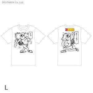 YUTAS マカロニほうれん荘 うっどーん! Tシャツ 白 Lサイズ◆ネコポス送料無料(ZG55301)|digitamin