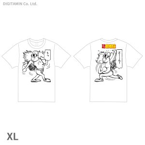 YUTAS マカロニほうれん荘 うっどーん! Tシャツ 白 XLサイズ◆ネコポス送料無料(ZG553...