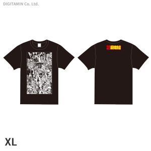 YUTAS マカロニほうれん荘(七味先生) Tシャツ 黒 XLサイズ◆ネコポス送料無料(ZG55317)|digitamin