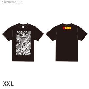 YUTAS マカロニほうれん荘(七味先生) Tシャツ 黒 XXLサイズ◆ネコポス送料無料(ZG553...
