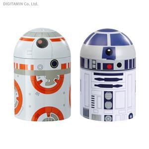 送料無料◆ファンコ スター・ウォーズ/最後のジェダイ ホーム&キッチン キャニスター R2-D2 & BB-8(2パック)(ZG55485)|digitamin