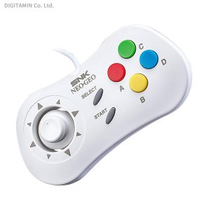 SNK NEOGEO mini (ネオジオ ミニ) PAD (White)(ZG55514)|digitamin