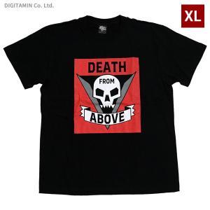 スターシップ・トゥルーパーズ Tシャツ DEATH FROM ABOVE (B) BK XLサイズ YUTAS◆ネコポス送料無料(ZG65804)|digitamin
