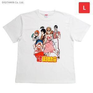 マカロニほうれん荘Tシャツ 4巻表紙 Lサイズ YUTAS◆ネコポス送料無料(ZG66223)|digitamin