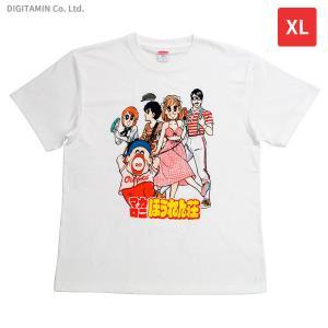 マカロニほうれん荘Tシャツ 4巻表紙 XLサイズ YUTAS◆ネコポス送料無料(ZG66224)|digitamin