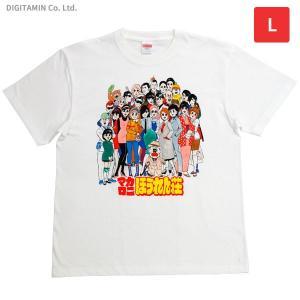 マカロニほうれん荘Tシャツ REUNION(再会) Lサイズ YUTAS◆ネコポス送料無料(ZG66228)|digitamin