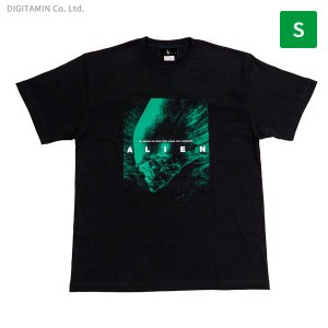 YUTAS エイリアン Tシャツ IN SPACE NO ONE Can HEAR YOU SCREAM. S◆ネコポス送料無料(ZG67050) digitamin