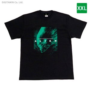 YUTAS エイリアン Tシャツ IN SPACE NO ONE Can HEAR YOU SCREAM. XXL◆ネコポス送料無料(ZG67054) digitamin
