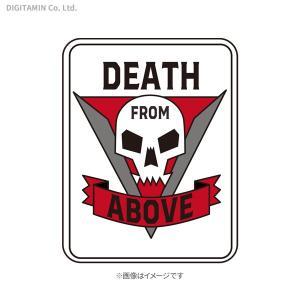 YUTAS スターシップ・トゥルーパーズ ワッペン DEATH FROM ABOVE(WHITE)◆ネコポス送料無料(ZG68213)|digitamin