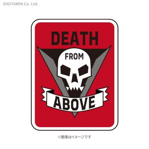 YUTAS スターシップ・トゥルーパーズ ワッペン DEATH FROM ABOVE(RED)◆ネコポス送料無料(ZG68214)|digitamin