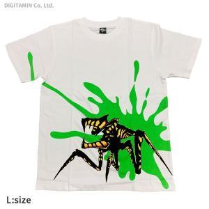 YUTAS スターシップ・トゥルーパーズ ウォリアーバグスTシャツ ホワイト Bloody ver. Lサイズ◆ネコポス送料無料(ZG73668)|digitamin