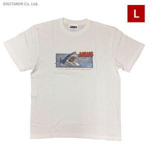 YUTAS ジョーズTシャツ JAWS ATTACK WH Lサイズ◆ネコポス送料無料(ZG74577)|digitamin
