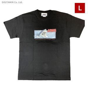 YUTAS ジョーズTシャツ JAWS ATTACK BK Lサイズ◆ネコポス送料無料(ZG74582)|digitamin