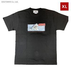 YUTAS ジョーズTシャツ JAWS ATTACK BK XLサイズ◆ネコポス送料無料(ZG74583)|digitamin