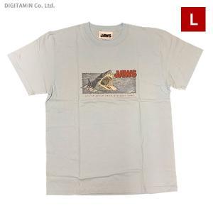 YUTAS ジョーズTシャツ JAWS ATTACK LB Lサイズ◆ネコポス送料無料(ZG74587)|digitamin
