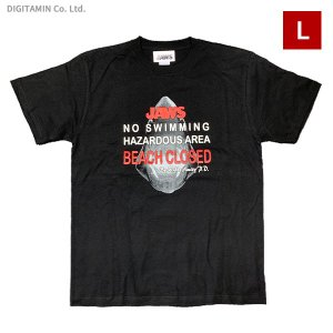 YUTAS ジョーズTシャツ JAWS Beach Closed BK Lサイズ◆ネコポス送料無料(ZG74597)|digitamin