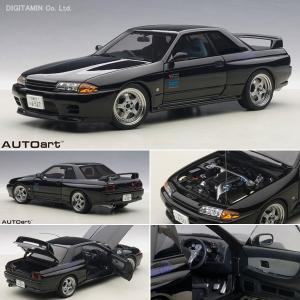 オートアート 1/18 ミニカー 日産 スカイライン GT-...