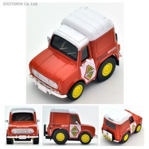 チョロQ zero ルノー4 フルゴネット サービスカー (橙) ミニカー Z-45b トミーテック(ZM29956)|digitamin