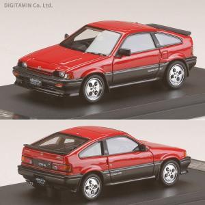 MARK43 1/43 ミニカー ホンダ バラード スポーツ CR-X Si (AS) レッド PM4384R(ZM47299)|digitamin