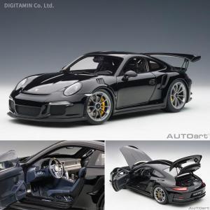 オートアート 1/18 ミニカー ポルシェ 911 (991) GT3 RS (ブラック) 78164(ZM50942)