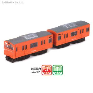 14809 バンダイ Bトレイン 103系体質改善40N車 大阪環状線 (オレンジ) 2両入り 鉄道模型(ZN27530) digitamin