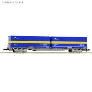 8731 TOMIX トミックス コキ107形 (増備型・西濃運輸コンテナ付) Nゲージ 鉄道模型 ...
