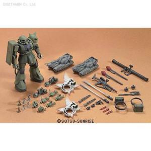 バンダイ HGUC 1/144 ザク地上戦セット 機動戦士ガンダム プラモデル(ZP05262)|digitamin