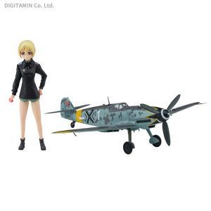 ハセガワ 1/20 ストライクウィッチーズ エーリカ・ハルトマン w/メッサーシュミット Bf109G-6 (1/72) プラモデル SP409 (ZP62996)|digitamin