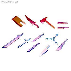 コトブキヤ M.S.G ウェポンユニット34EX ナイフセット Special Edition POLARIZATION RED&BLUE プラモデル SP002 (ZP63100)|digitamin