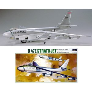 ハセガワ 1/72 B-47E ストラトジェット プラモデル K7(ZS08381)