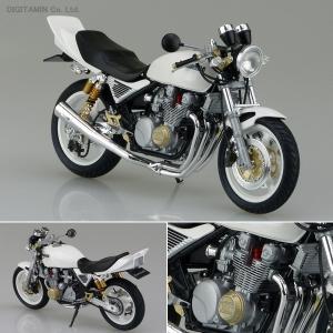 カワサキ ゼファーχ プラモデル アオシマ 1/12 バイク No.16 カスタムパーツ付き(ZS10419)
