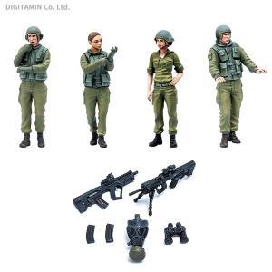 PLAMAX 1/35 イスラエル国防軍タンククルーセット1 プラモデル マックスファクトリー 35-02(ZS29285)|digitamin